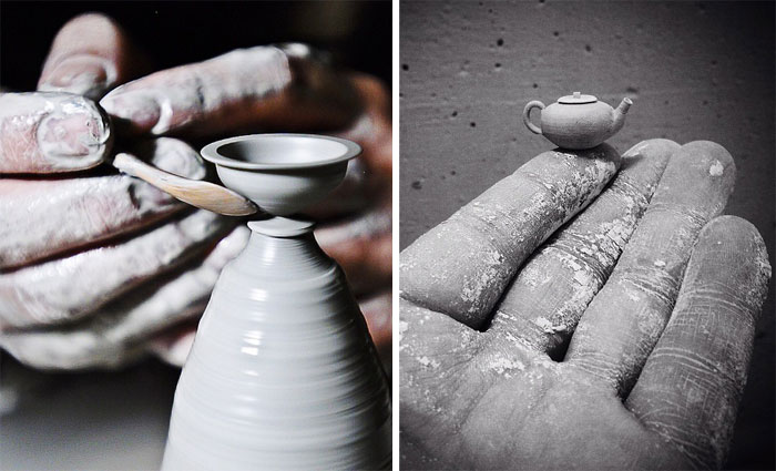 This Artist Makes Incredibly Tiny Pottery By Hand