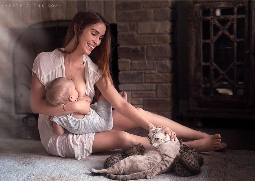 hot porn hot breastfeed