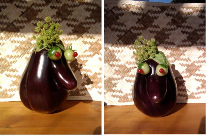 #85 Miss Eggplant