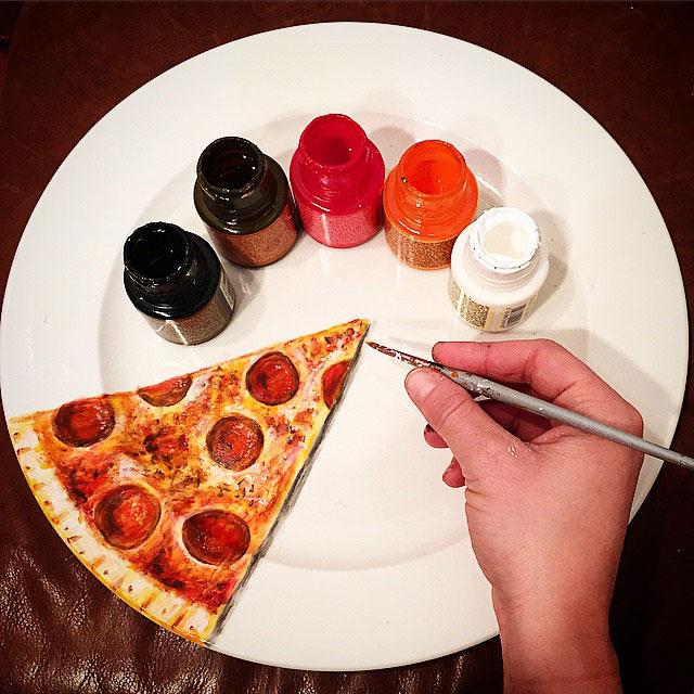 "My Hyper-Realistic Plate Art That I Call ""Plart"""