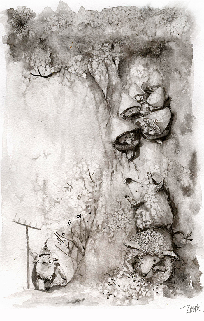 pencil-ink-drawings-old-winter-fairy-tales-adamova-marina4