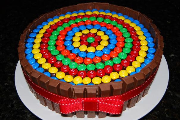 Perfect M&m's Cake