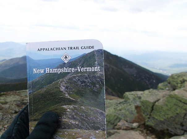 We Found Our Guide Book Cover On The Appalachian Trail