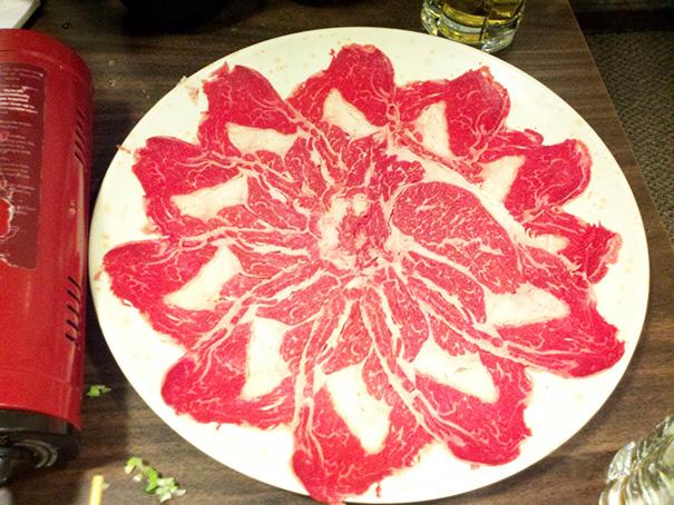 This Plate Of Shabu Shabu Meat