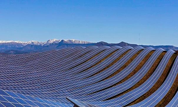 Solar Farm In France