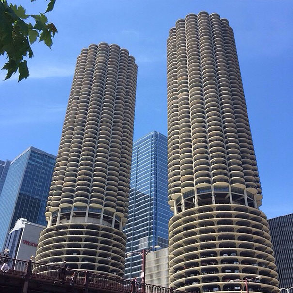 The Marina Towers In Chicago