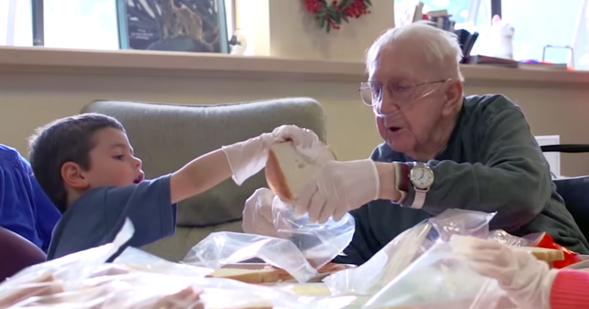 Introducing Preschoolers Into This Nursing Home Changed Everyone's Lives