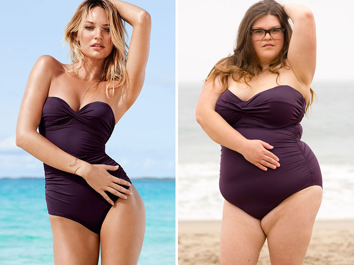 How Victoria's Secret Swimsuits Look On Everyday Women