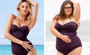 How Victoria's Secret Swimsuits Look On Everyday Women