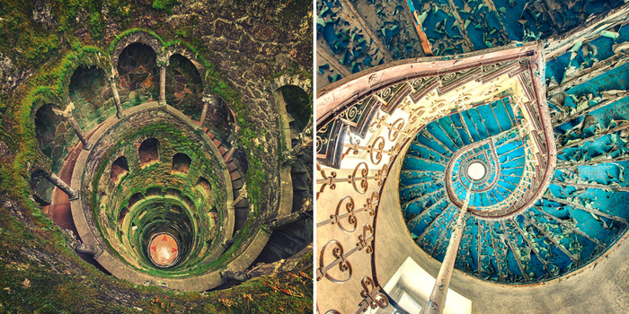 30 Mesmerizing Examples Of Spiral Staircase Photography
