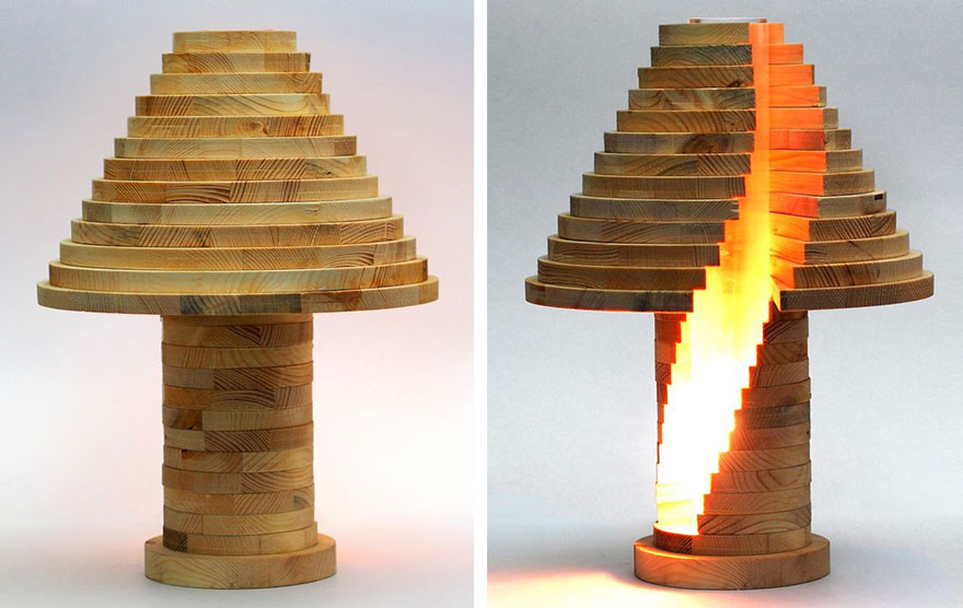 DIY Shape-Shifting Lamp That You Can Flip, Swirl And Arrange ...