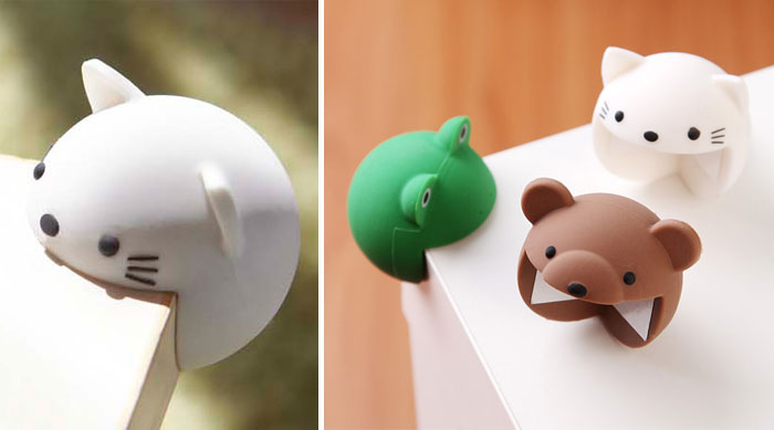 Protect Your Table Corners And Yourself With Adorable Corner-Eating Animals