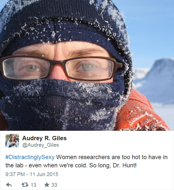 Women Researchers Are Too Hot To Have In The Lab - Even When We're Cold
