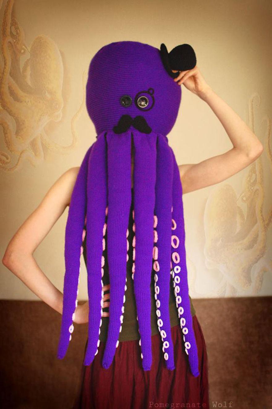 I Crochet And Knit Octopus Gentlemen