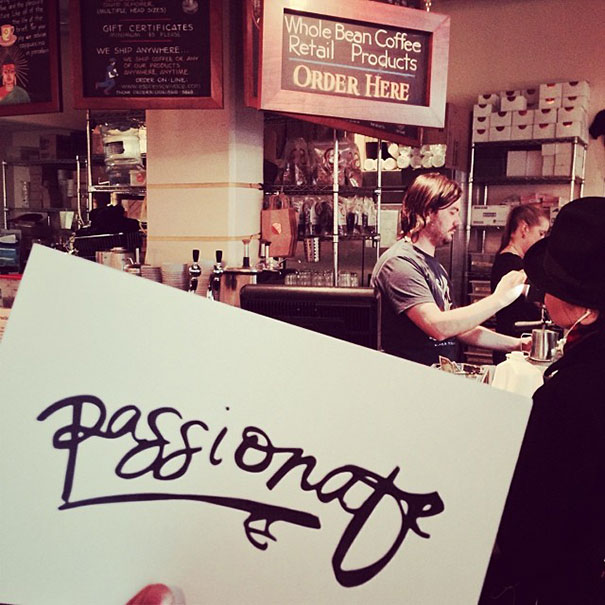 Barista Was So Passionate About His Job, Vivace Espresso, Seattle, Washinton