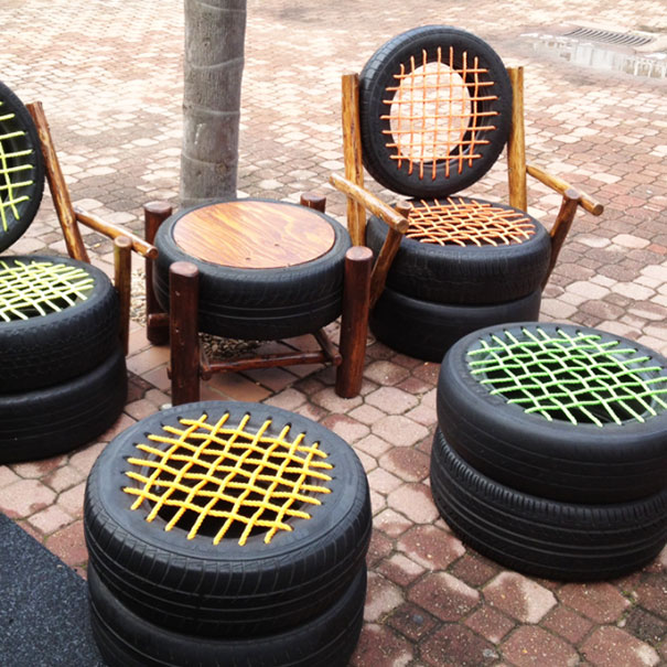Tire Patio Furniture
