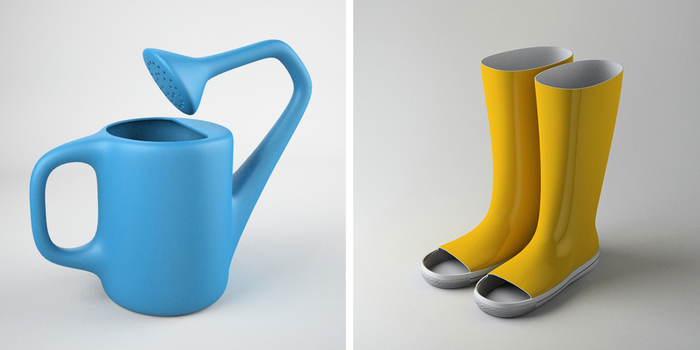 Designer creates perfectly useless product designs bored for Products to design