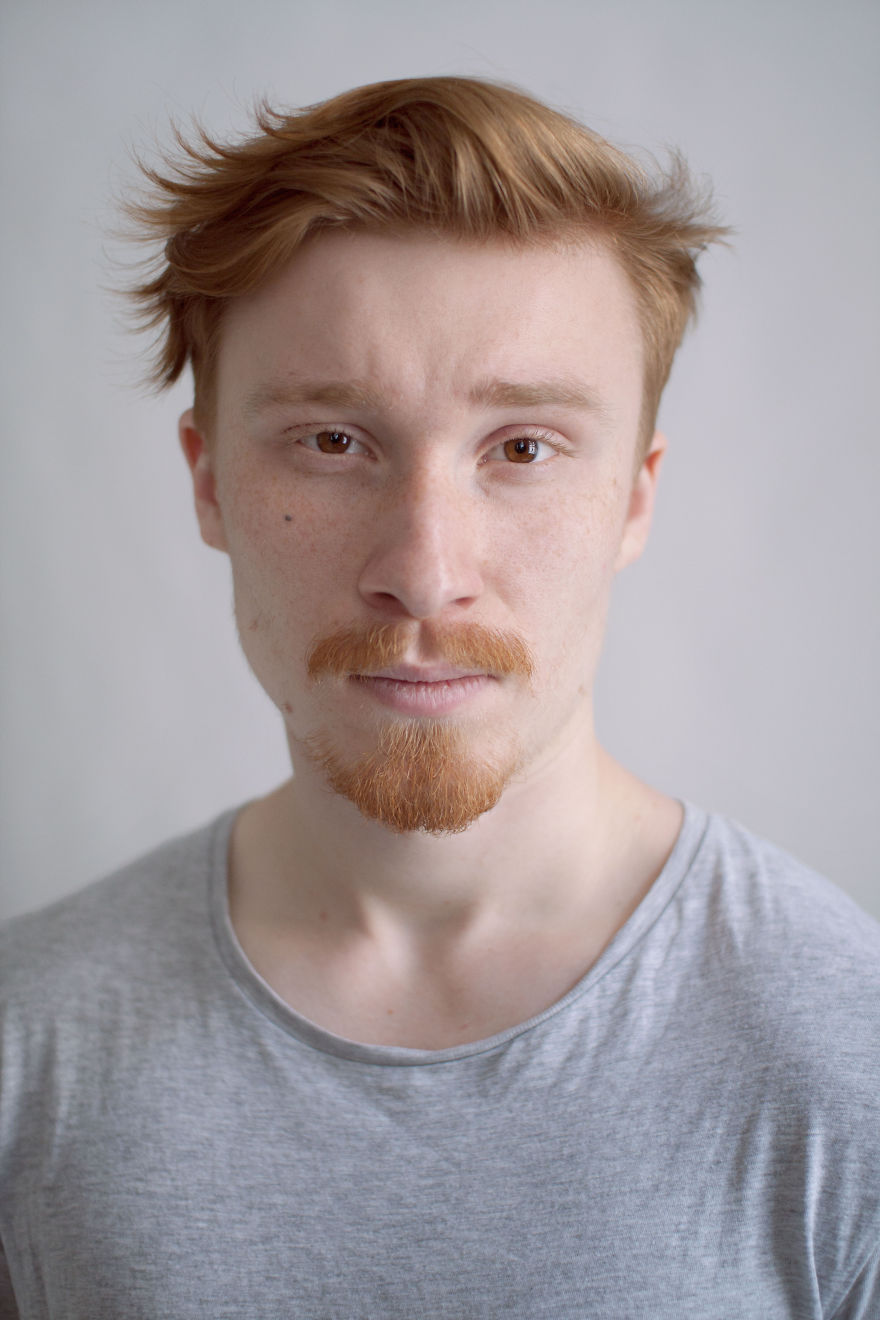 The Ginger Project My Portraits Fight Red Head