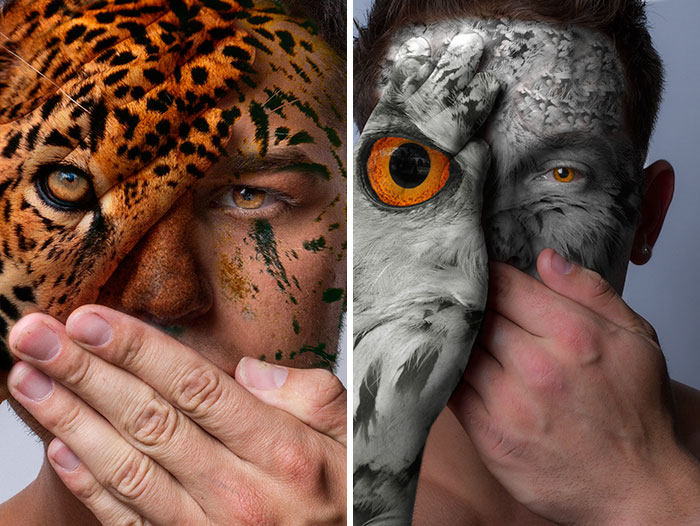 Faces Of The Wild: I Fight Animal Captivity With My Portraits