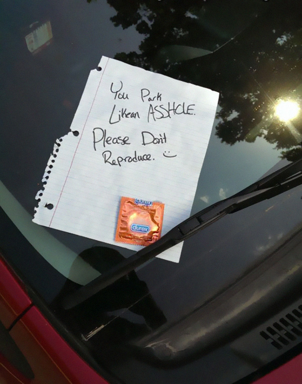 Windshield Note