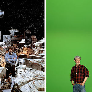 George Lucas Then And Now