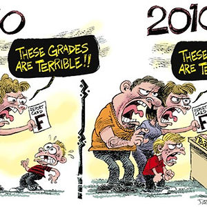 Teachers In 1960 And 2010