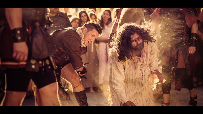 The Way Of The Cross: The Passion Of The Christ On The Streets Of Bucharest