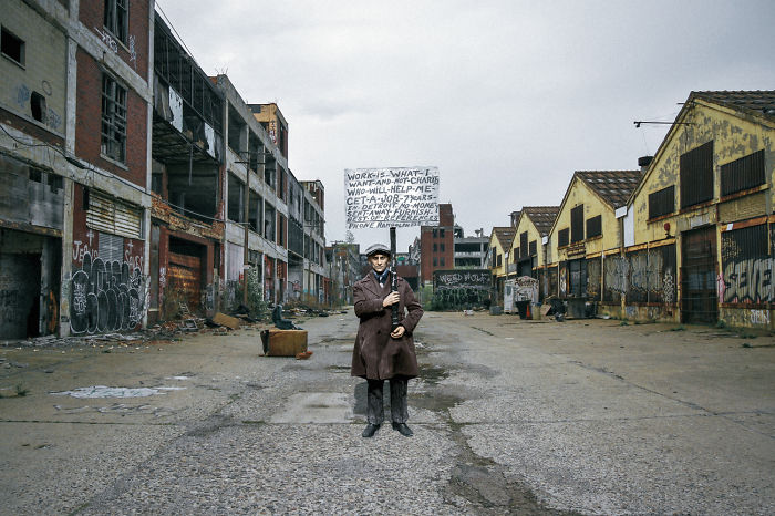 I Combined Photos Of Detroit Then And Now