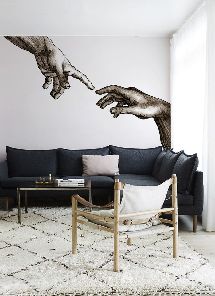 These 20 Mesmerizing Wall Murals Inspired By Masterpieces Will Teach You Some Art History