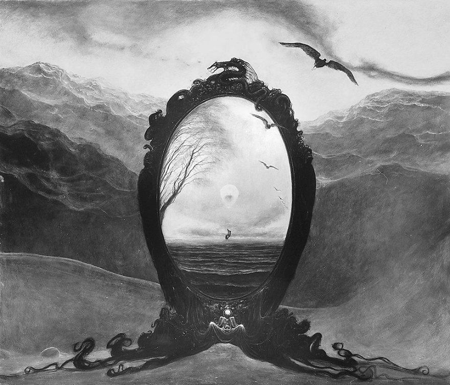 Zdzisław Beksiński Collection Of Surreal Paintings