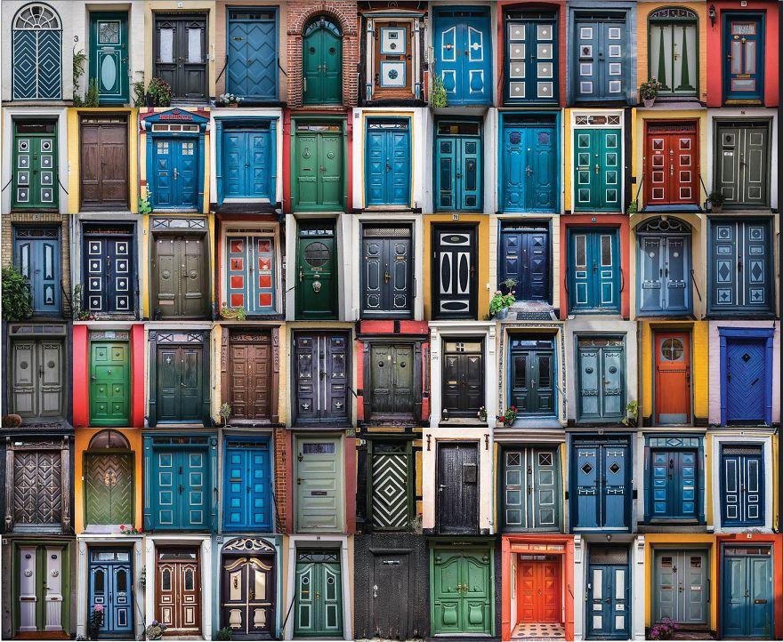 From Door To Door My Collection Of Colorful Doors In Rskbing