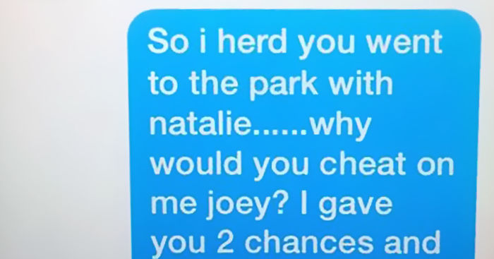 11 Year Old Girl S Epic Break Up Text After She Finds Out