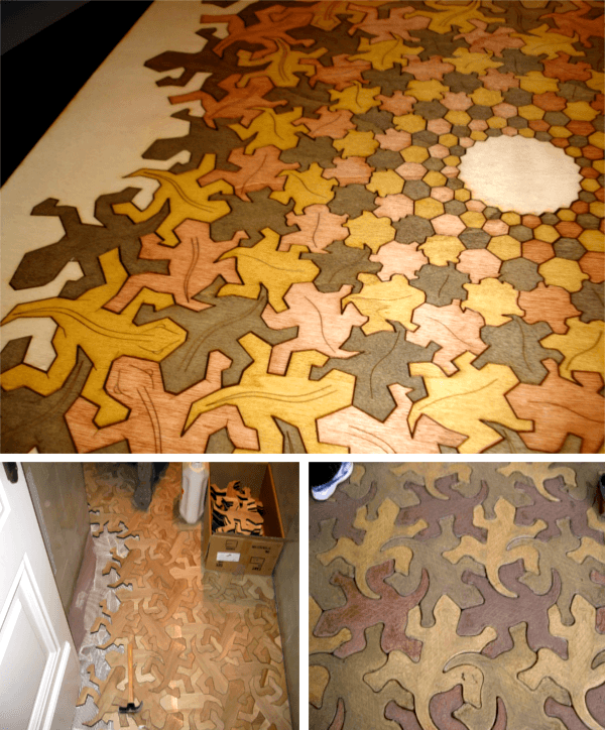 20 Amazing Wooden Floors You Will Never Have At Home - Woodworking Crazy