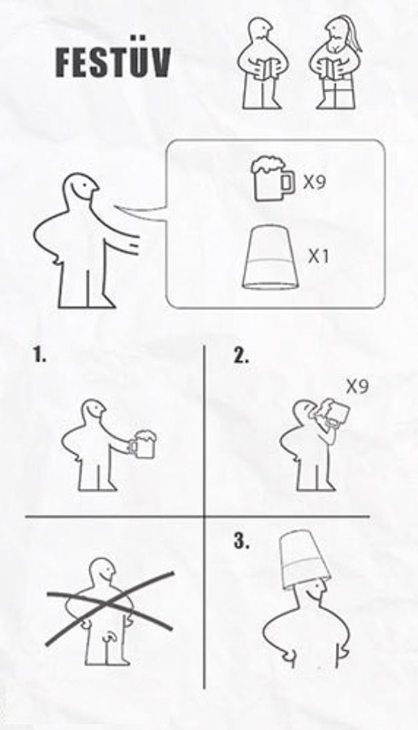 real life situations done via ikea flat pack instructions. Black Bedroom Furniture Sets. Home Design Ideas
