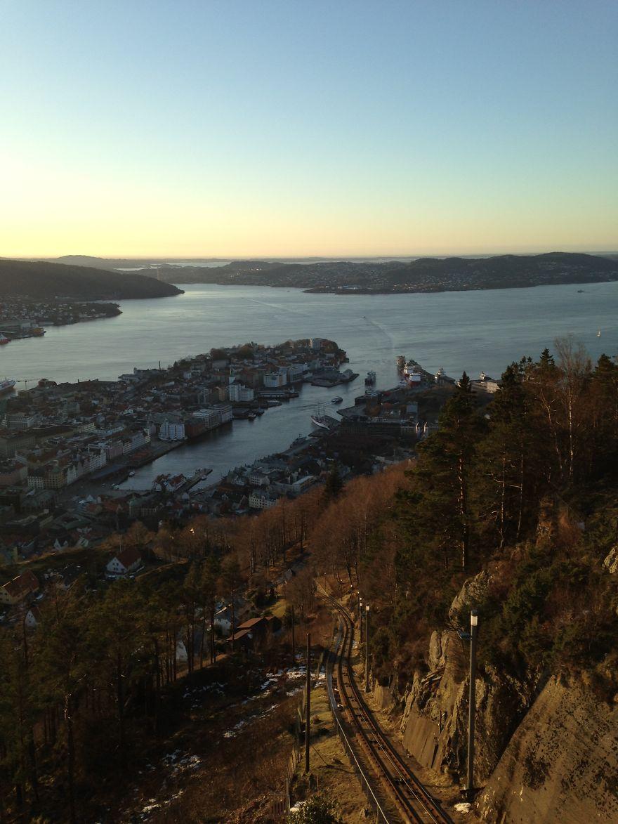 Fløyen Mountain, Bergen