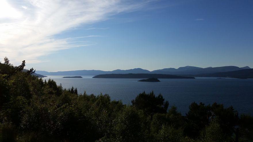 Romsdalsfjord Mot Molde.
