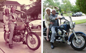 Couple Celebrates 40th Anniversary By Recreating Their Wedding Pics From 1975