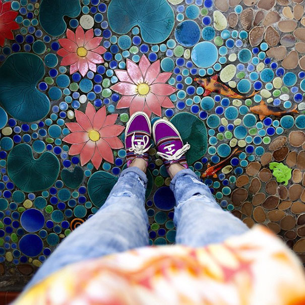 The Same Frame Everyday: a Lady's Instagram Account Full Of Colorful Daily Celebrations