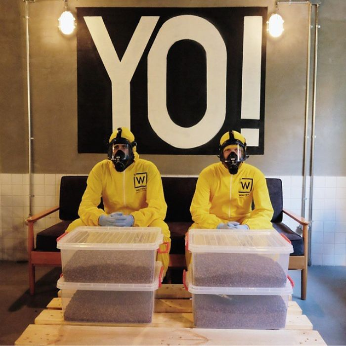 Breaking Bad-Themed Coffee Shop In Istanbul