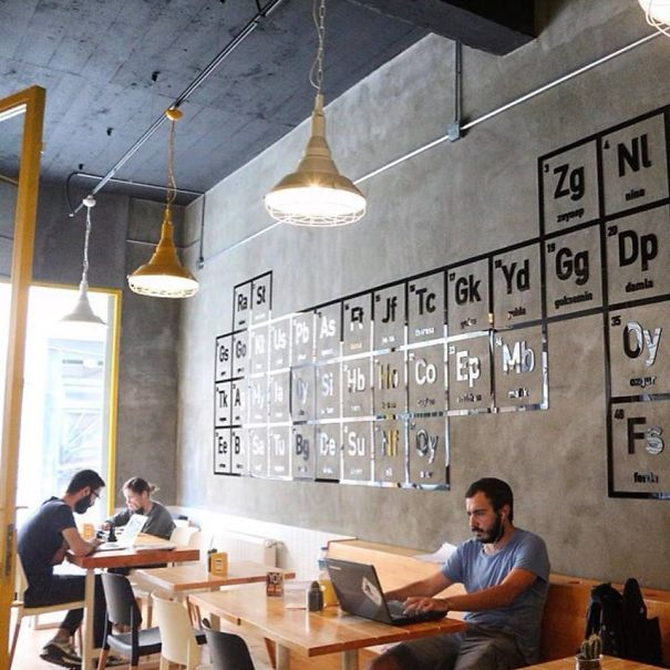 Breaking bad themed coffee shop in istanbul bored panda for Coffee shop setup and decor