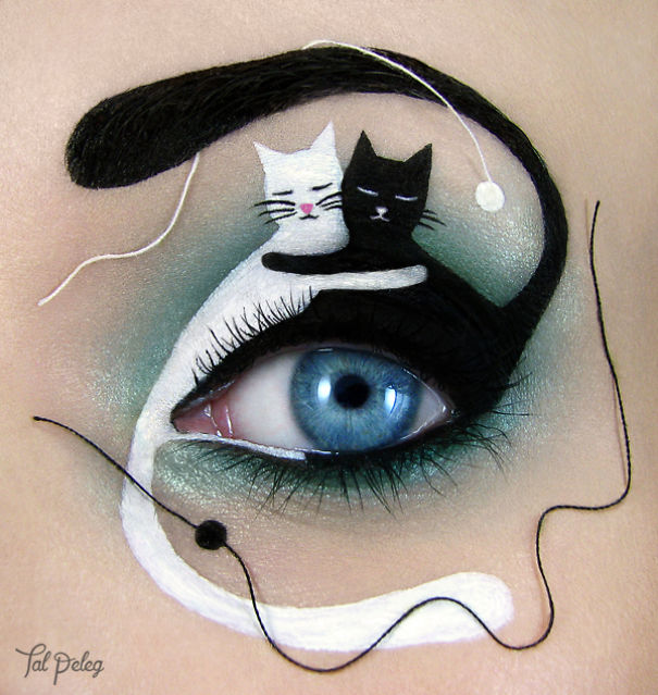 I Use Eyes As A Canvas For My Art
