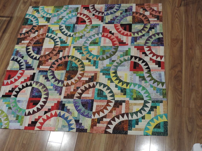 Quilt Mania – No, I Couldn't Actually Leave It This Way!