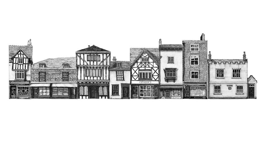 architectural drawings of famous buildings. Beautiful Drawings Canterbury Street To Architectural Drawings Of Famous Buildings G