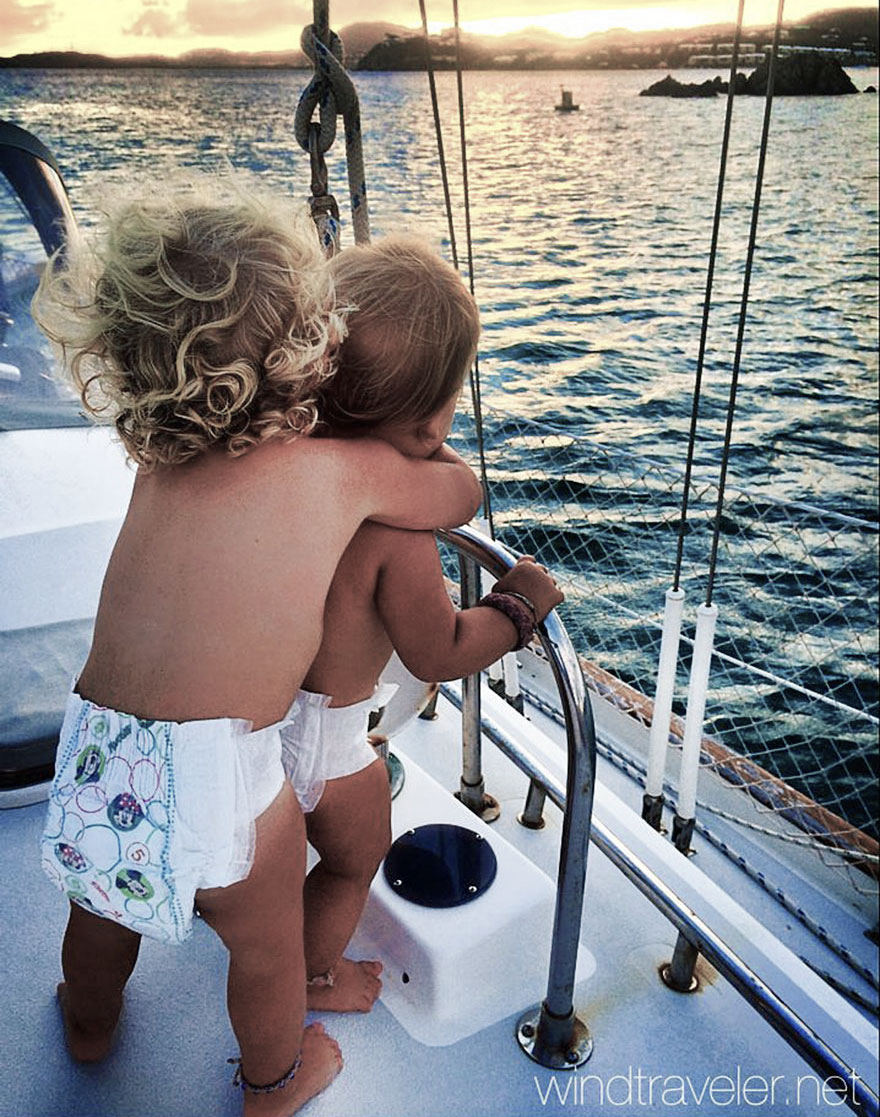 Extreme Parenting: Raising Three Toddlers On A Sailboat In The Caribbean