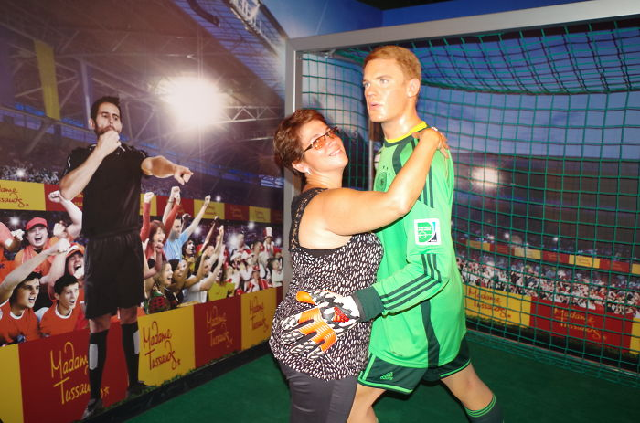 Yellow Card For Emanuel Neuer…for Touching My Wife!