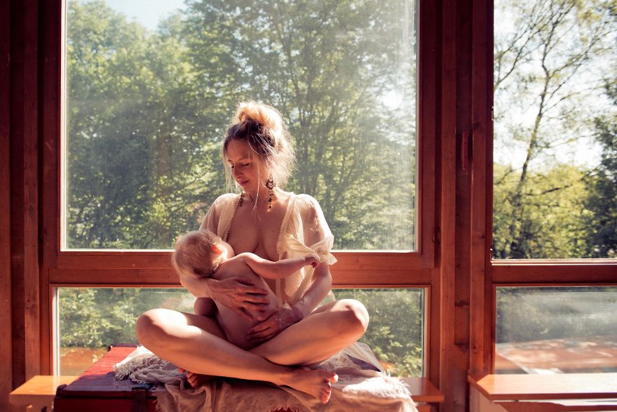 in honor of world breastfeeding week i took these photos