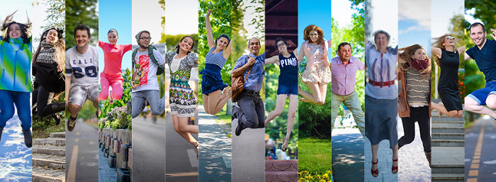 Jumpin' Romania: I Photograph Jumping People On The Streets