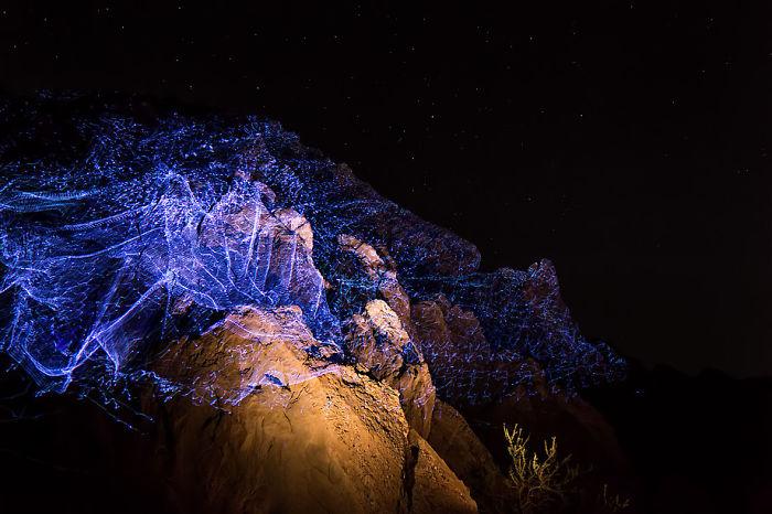 Magnitude: My Environmental Laser Drawings In Coachella Valley