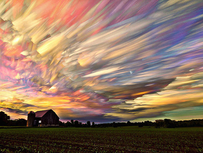 "Incredible ""timestack"" Photo Technique Combines Time-lapse Images"