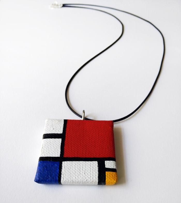 My Mini Canvas Necklaces